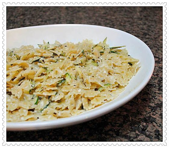 Farfalle with Zucchini and Ricotta | Pasta | Pinterest