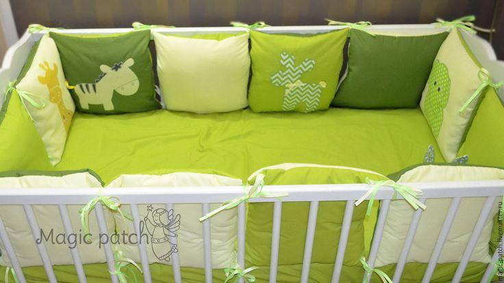 Бортики для детской кроватки своими руками мастер 985