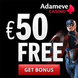 adam eve casino no deposit bonus 2013