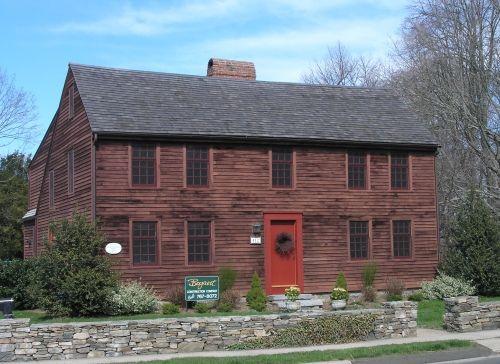 The Old Buckingham House Salt Box Houses Pinterest