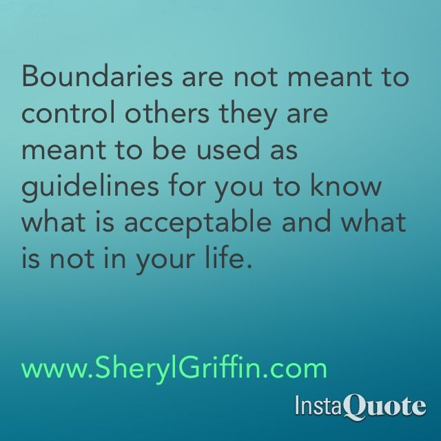 Quotes About Boundaries And Limits. QuotesGram
