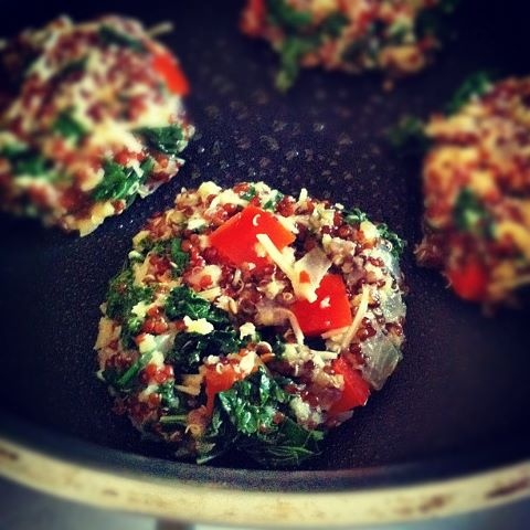 Kale and Quinoa Cakes. | Savory. | Pinterest