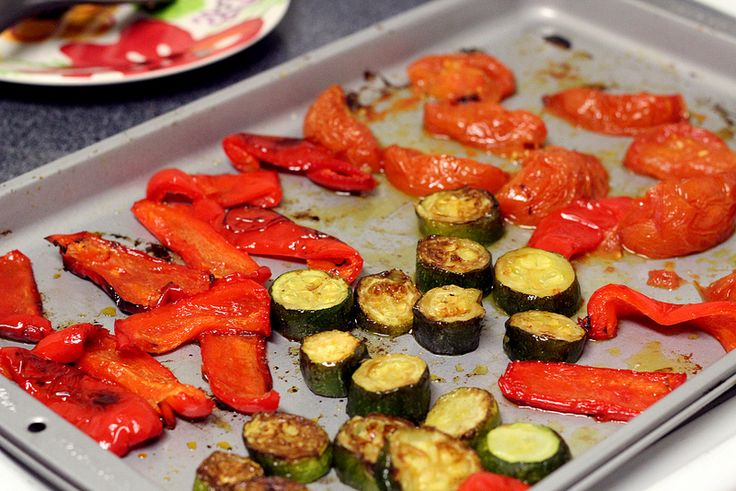 Easy Oven-Roasted Vegetables | side dishes | Pinterest