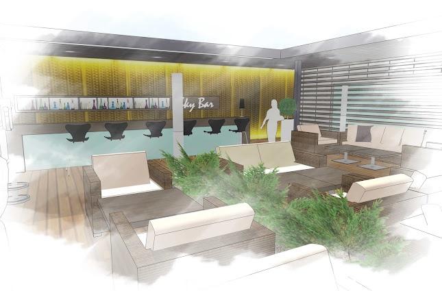 Zagreb Airport: Sky Lounge - Google SketchUp Showcase