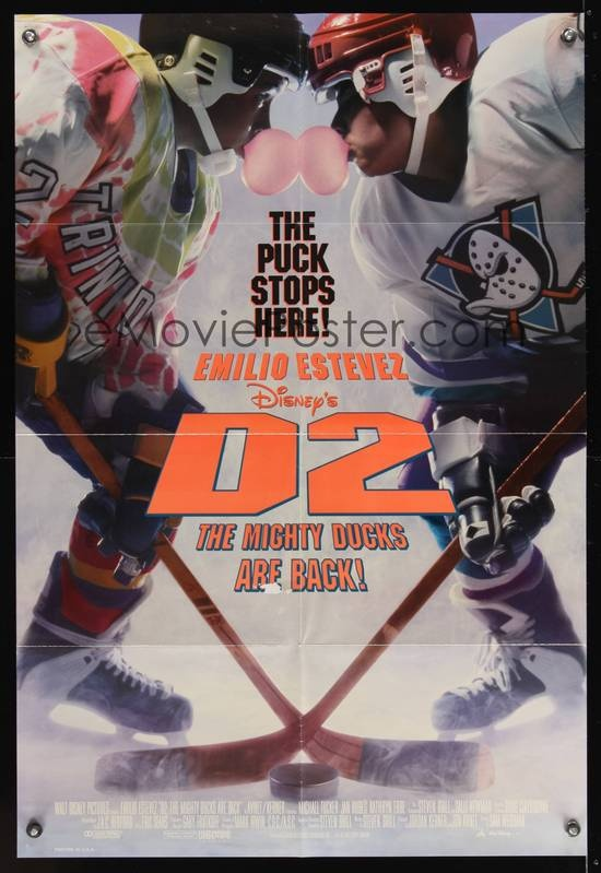 d2 the mighty ducks 1994 disney movies posters pinterest