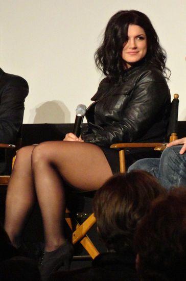 Sexy Gina carano a lesbian it. Thanks