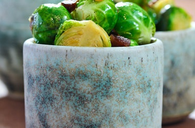 Brussels Sprouts with Bacon and Beer | Recipes to try | Pinterest