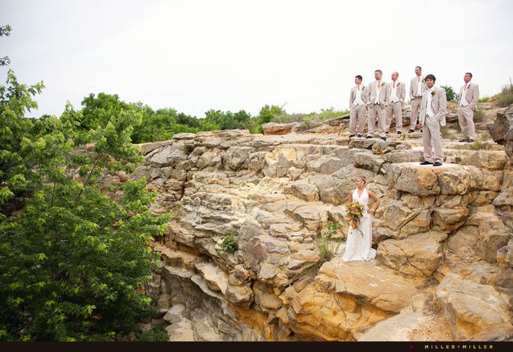 Starved Rock Canyon Wedding Photography Countryside Weddings Pint