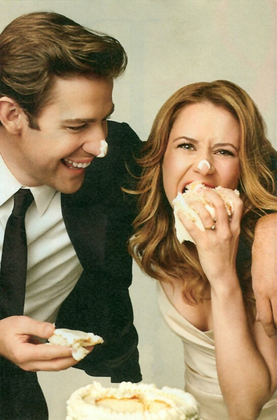 John Krasinski and Jenna Fischer | Places to Go & People ...