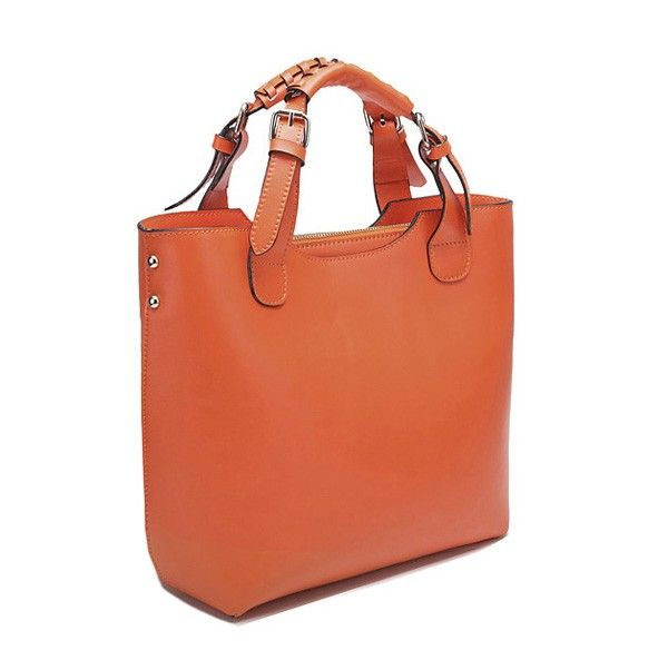 Pure Elegance Woven Leather Tote