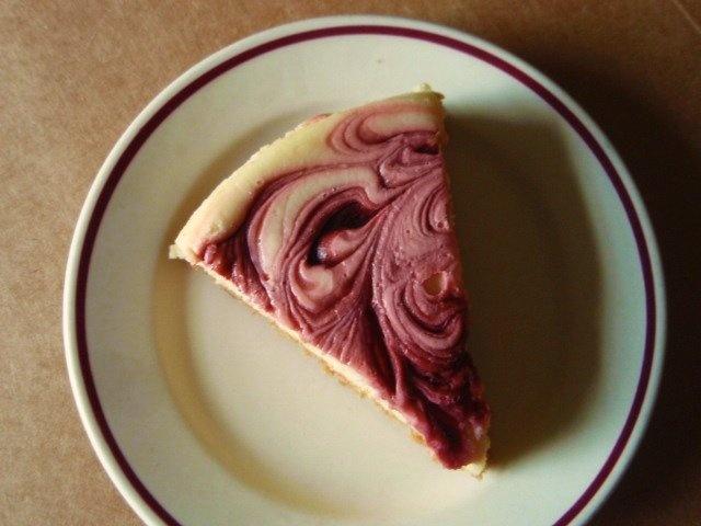Raspberry swirl cheesecake | Food | Pinterest