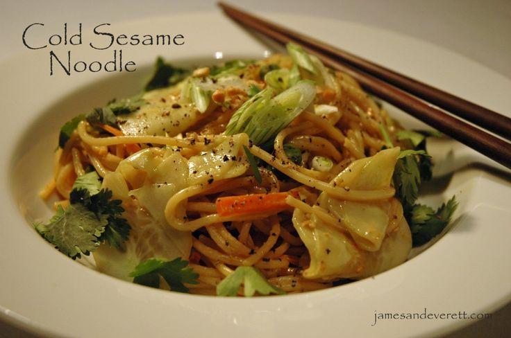 Cold Sesame Noodles | Successful Saturdays | Pinterest