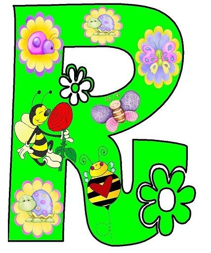 Moldes de letras decoradas para imprimir - Imagui