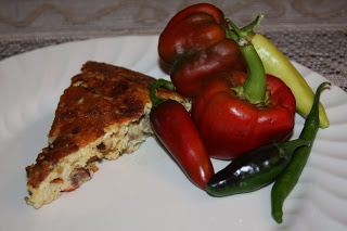 ... Italian Sausage and Roasted Red Bell Pepper and Onion Frittata