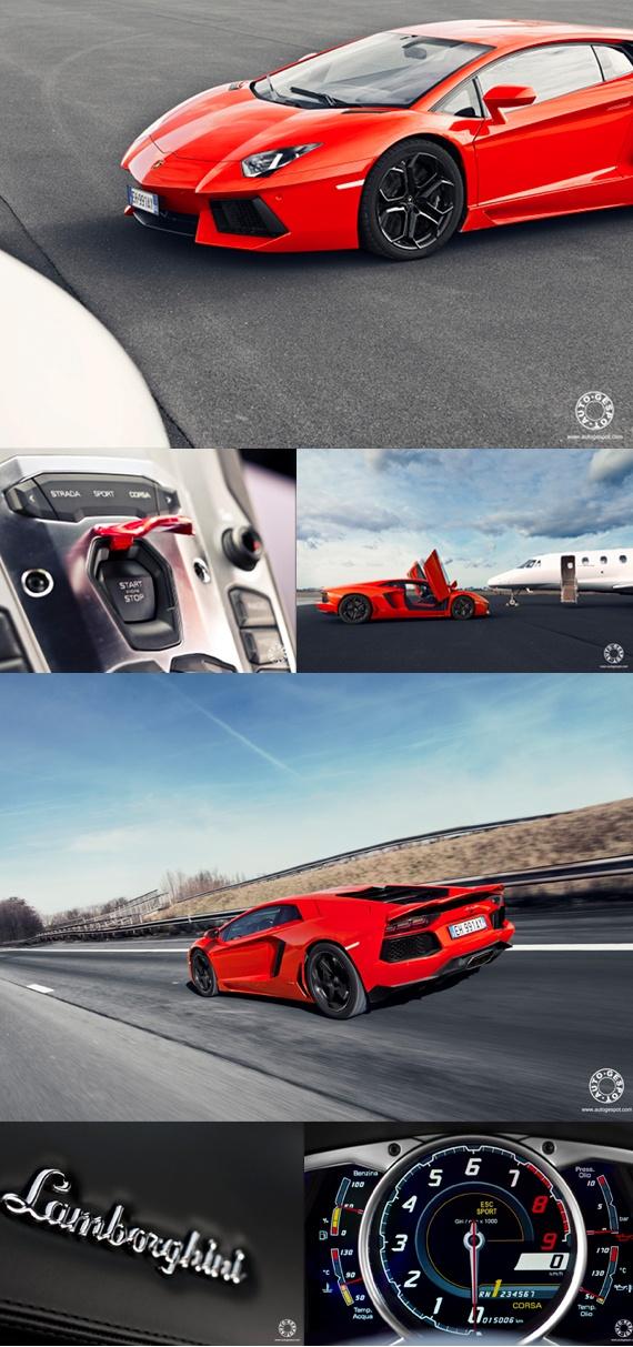 Lamborghini Aventador LP700-4 photoshoot