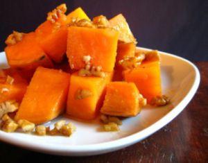 maple_glazed_sweet_potatoes | Foods | Pinterest