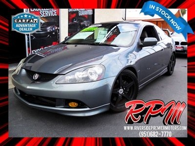 Acura Riverside on 2006 Acura Rsx 2dr Cpe Type S 6 Spd Mt Leather Hatchback Riverside