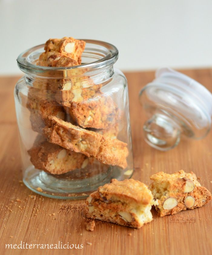 Rosa's Almond Biscotti Recipe — Dishmaps
