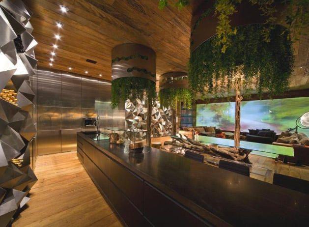 Sala De Estar Rustica ~ Sala de estar y rustica espectacular!  Cocinas  Pinterest