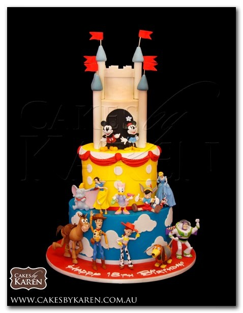 Birthday Cake Images Disney : Disney Birthday Cake Birthday party ideas Pinterest