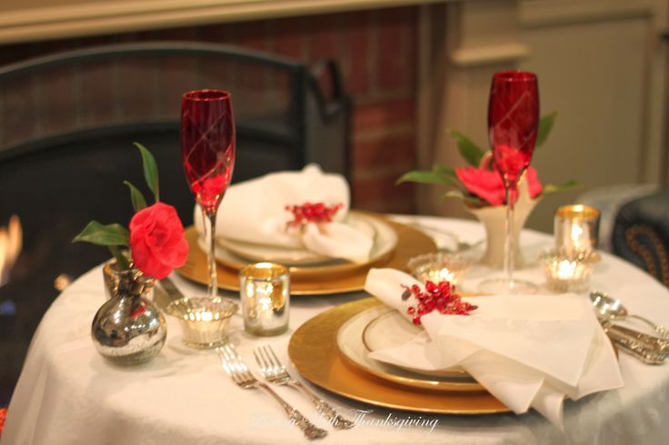 Living With Thanksgiving: Romantic Valentine Dinner for 2 close and intimate