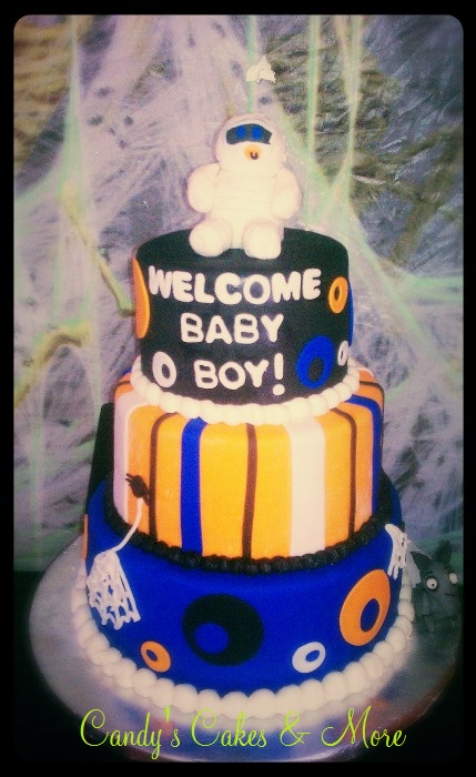 halloween baby shower cake my cakes creations pinterest