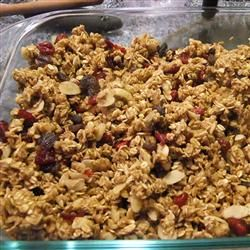 Crunchy Pumpkin Pie Granola Allrecipes.com