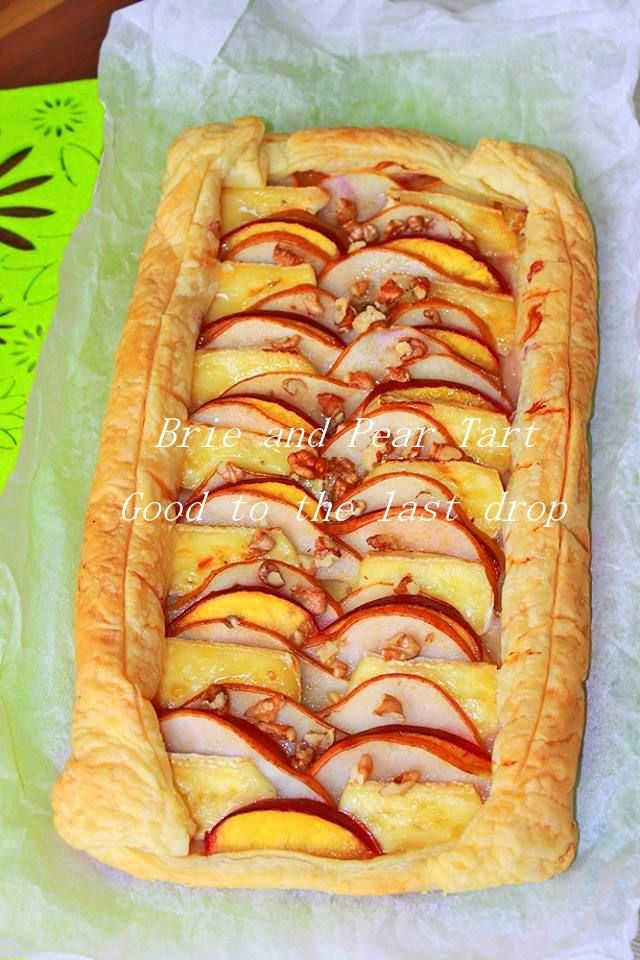 Brie and Pear Tart with Caramel | Good to the last drop - recipes fro ...