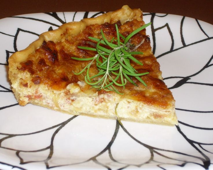Bacon, Cheese & Caramelized Onion Tart 2