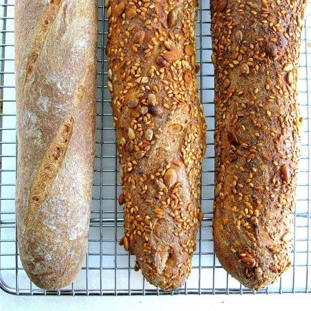 whole wheat baguettes | recipes to try | Pinterest