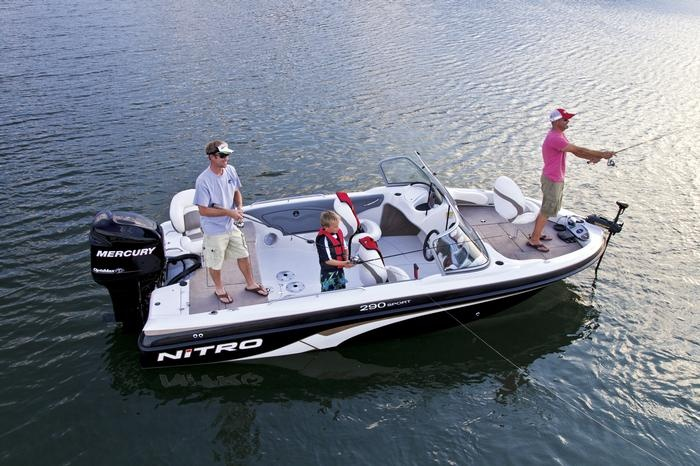 nitro 290 sport fishing boat sports fishing and more