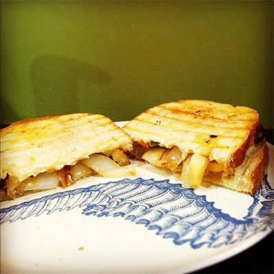 Grilled Vegetables & Cheese Panini | Food- Yummy- FOOD! | Pinterest