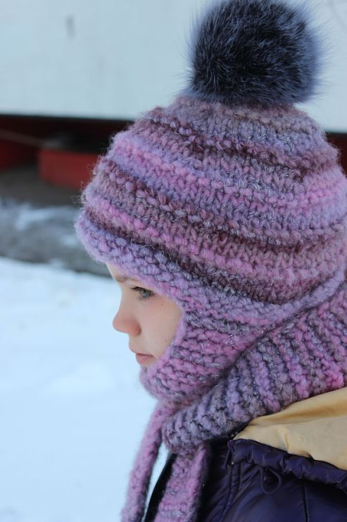 Free Knitting Pattern For Hat Scarf Combo : 301 Moved Permanently