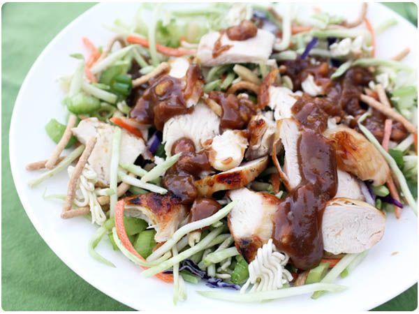chicken asian slaw | Yummy Goodness | Pinterest