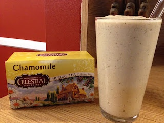 Banana Chamomile Smoothie. Perfect for a stressful day!