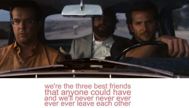 Three Best Friends Quote From Hangover : Gallery for gt best friends hangover gif