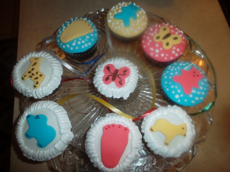 Baby shower cupcake Gourmet Cake & Dessert Pinterest