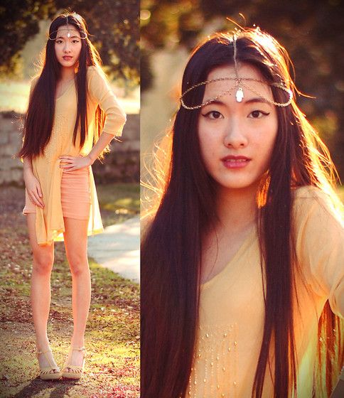 Art in Our Blood: DIY CHAIN HEADPIECE TUTORIAL