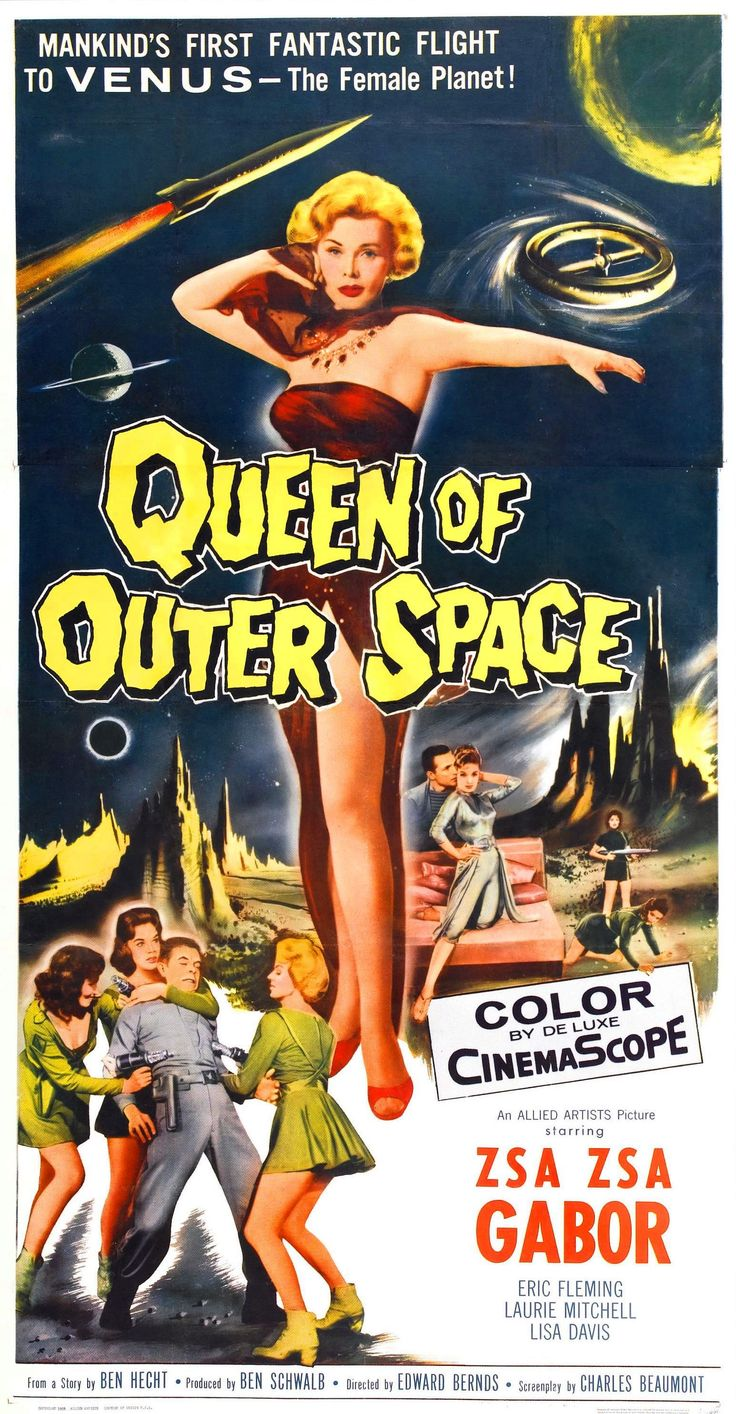 1950s vintage sci fi movie posters value