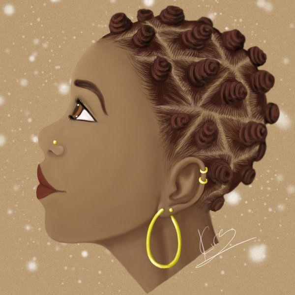 Ebony Beauty Do Over by KiraTheArtist