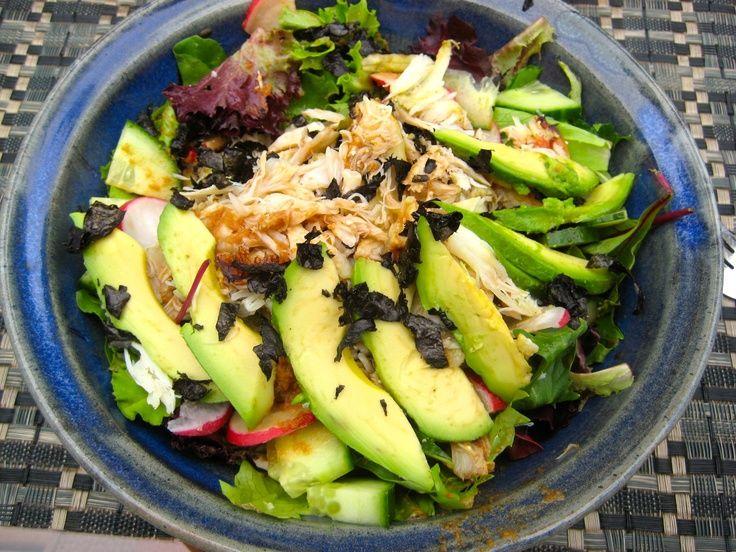 Crab and Avocado Salad | Food | Pinterest