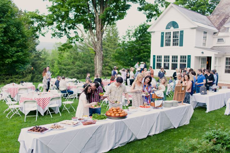 Ideas for simple backyard weddings