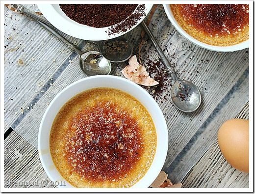 Coffee and caramel infused Creme Brulee, can someone say, Christmas ...