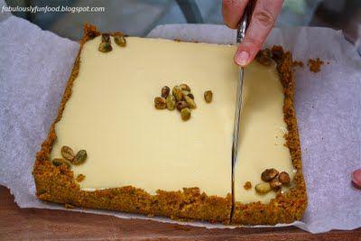 Key Lime Bars with Graham-Cracker Pistachio Crust