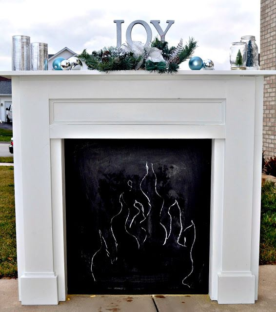 faux fireplace and mantel decor awesome ideas pinterest