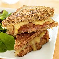Ham and Caramelized Onion Grilled Cheese | New Recipes to Try | Pinte ...