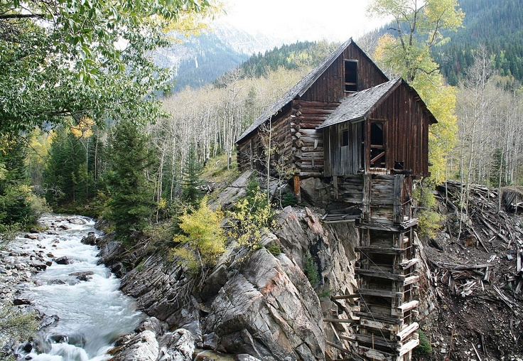 The crystal mill marble co cabins pinterest for Dennis mill cabin