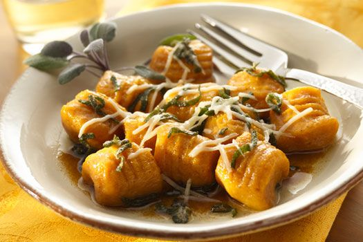 Parmesan Sweet Potato Gnocchi with Browned Butter Sage Sauce ...