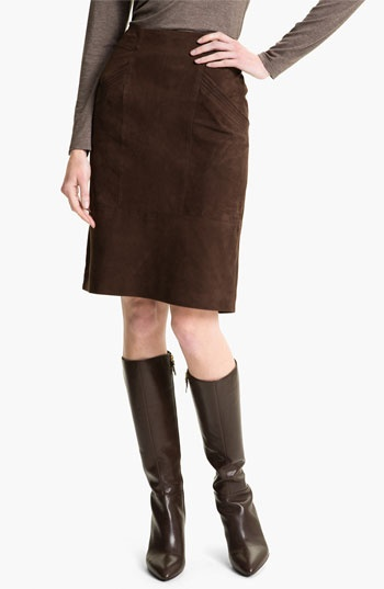 pencil skirt and boots style
