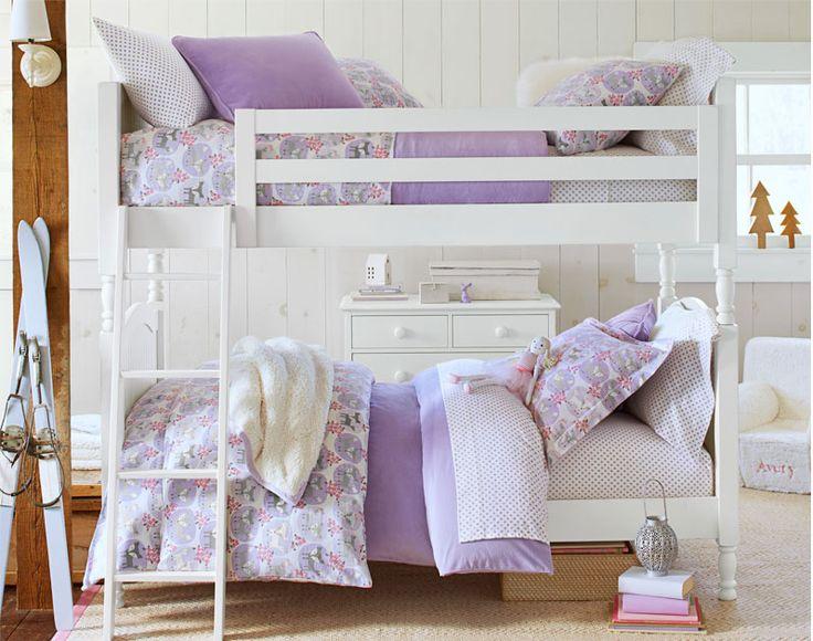 Shared Bedroom Idea  Pottery Barn Kids  Girls shared room  Pintere ...